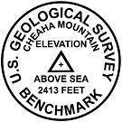 Cheaha Mountain, Alabama USGS Style Benchmark by topou