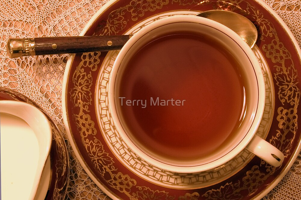 The daily ritual by Terry Marter