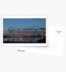 Transporter Illuminated Postcards