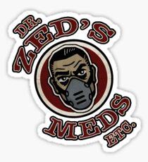 DR. ZEDS MEDS Sticker