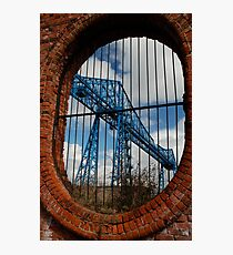 Through the Oval Window Photographic Print
