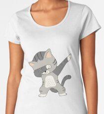 Dabbing Cat T-Shirt Women's Premium T-Shirt