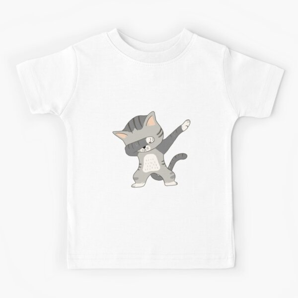 Dabbing Cat T-Shirt Kids T-Shirt