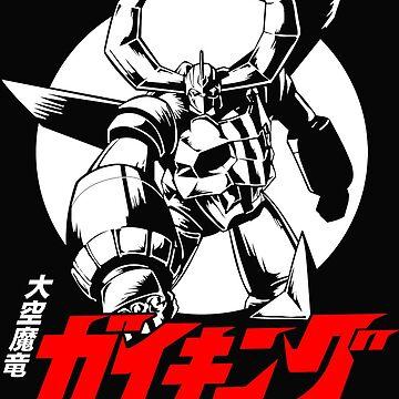 Gaiking Super Robot  by Realmendesign