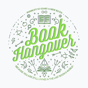 Book Hangover (Green) by missphi