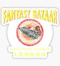 Fantasy Bazaar (Spaced) Sticker