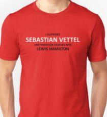 I SUPPORT SEB VETTEL Unisex T-Shirt