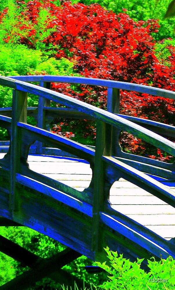 Japanese Garden Bridge by rdotter
