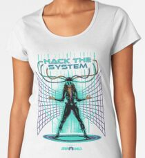 Hack The System!  Women's Premium T-Shirt