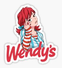 Smug Wendy's Girl #2 Sticker