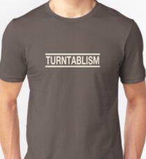 Turntablism white color Unisex T-Shirt
