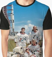 Apollo 17 Crew Graphic T-Shirt