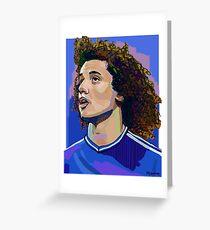 David Luiz  Greeting Card