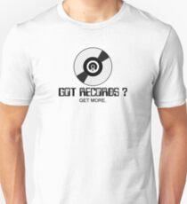Got records black color Unisex T-Shirt