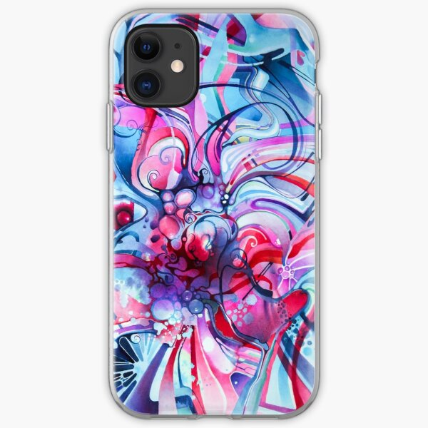 Your Love The Same As Mine - Watercolor Painting iPhone Soft Case