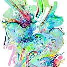 El Camino Acids - Watercolor Painting by jeffjag