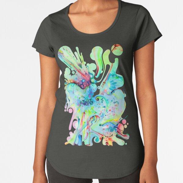 El Camino Acids - Watercolor Painting Premium Scoop T-Shirt