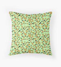 Loaves and Bowties  Throw Pillow