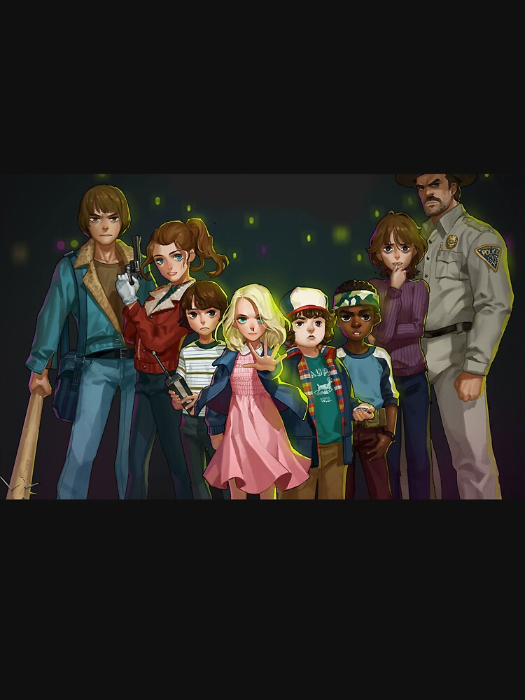 Stranger Things by DYD13