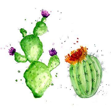 Desert Blooms by Sn0wfl4ke