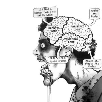 zombie brain by GSunrise