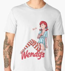 Smug Wendy's Girl Men's Premium T-Shirt