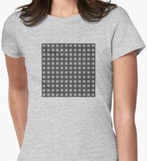 Gray square pattern T-Shirt