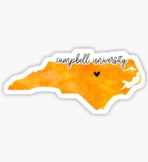 Campbell University Sticker