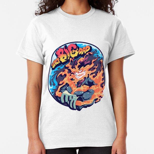 Endeavor / Enji Todoroki SPICY BIG DAD Classic T-Shirt