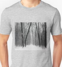 The Quiet Beauty of a Snowstorm T-Shirt