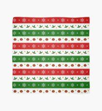 Christmas Ribbon pattern Scarf