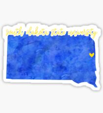 South Dakota State University Sticker