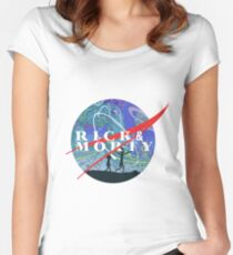 rick  Women's Fitted Scoop T-Shirt