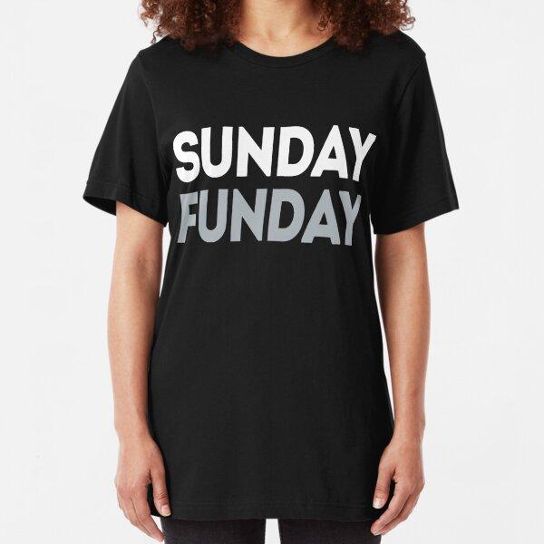 Sunday Funday Black Adult Long Sleeve T-Shirt