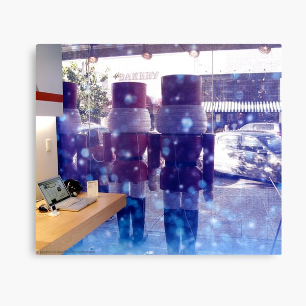 Automatic Christmas Canvas Print