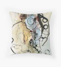 Le penseur / The Thinker Throw Pillow