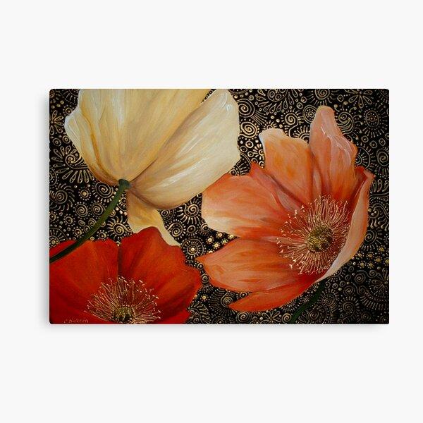 Poppy Trio Canvas Print