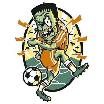 Zombie football player by jairodota10