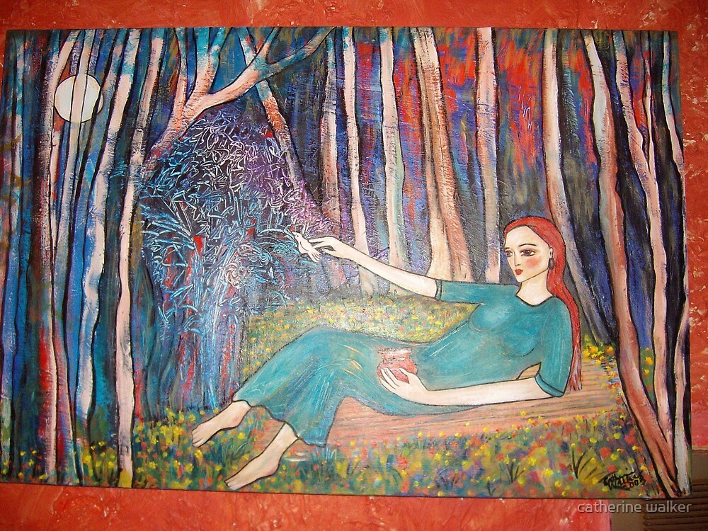 Dreamer- showing more of it's colour  by catherine walker
