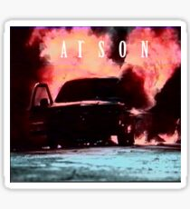 """ARSON - """"VHS""""  Sticker"""
