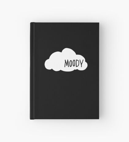 Moody Dark Hardcover Journal