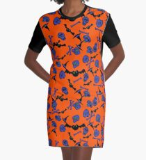 I put a spell on you-halloween Graphic T-Shirt Dress