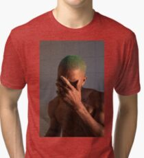Frank (8K resolution) Tri-blend T-Shirt