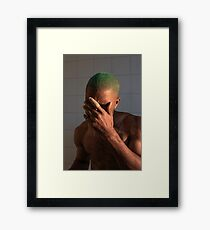 Frank (8K resolution) Framed Print