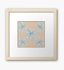 Loopy Framed Print