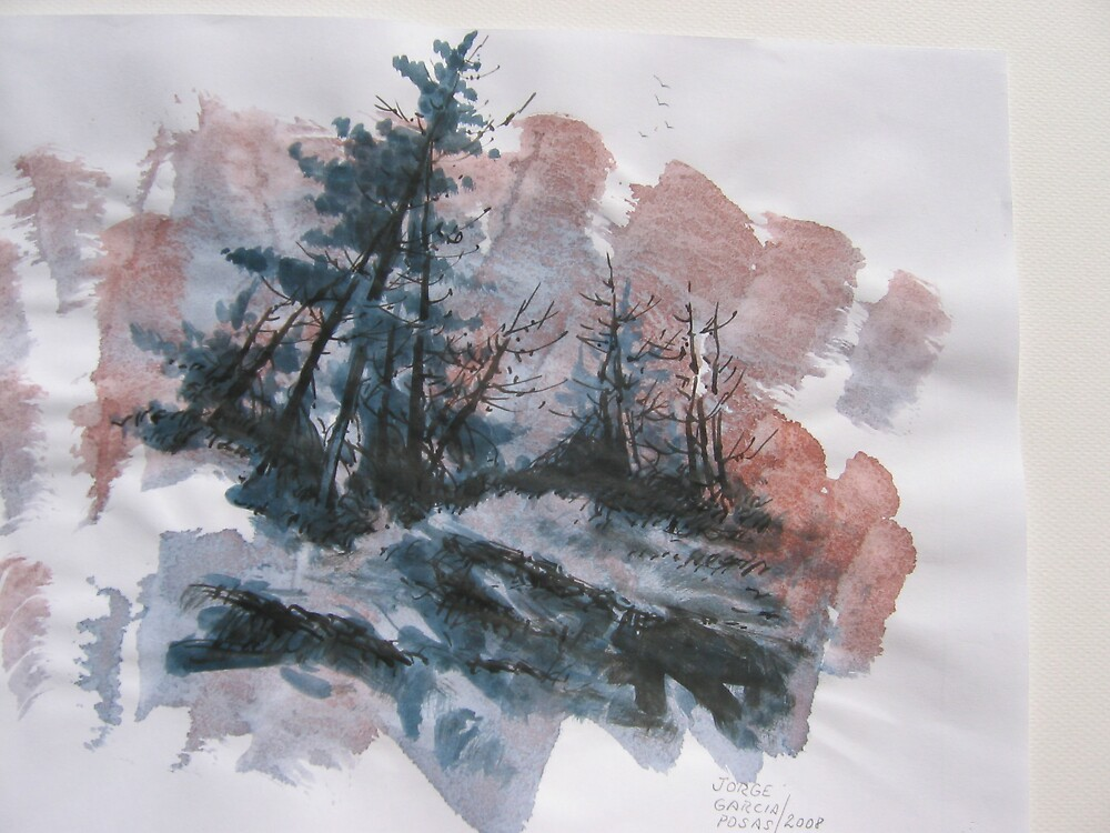 stormy weather 2 by Jorge Garcia Posas