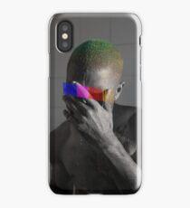 Monochrome Frank Censored (8K resolution) iPhone Case/Skin