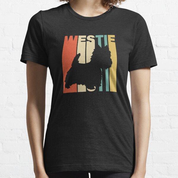 Vintage Style Westie Silhouette Shirt Essential T-Shirt