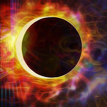 Dark Of The Sun (Square Version) - By John Robert Beck by studiobprints