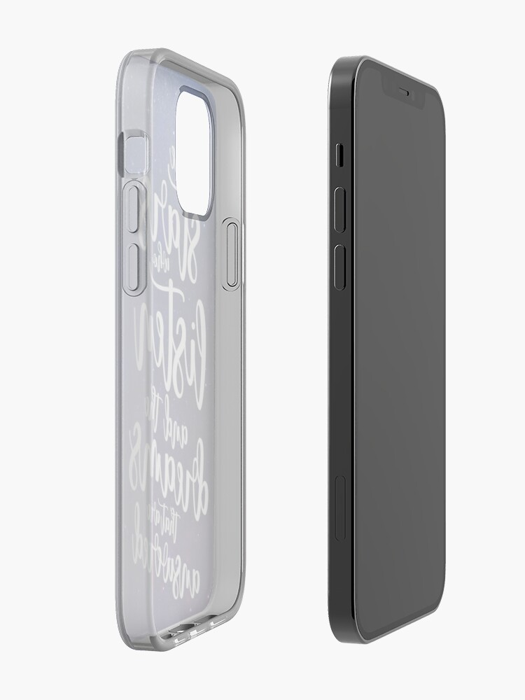 Alternate view of To the stars who listen and the dreams that are answered iPhone Case & Cover